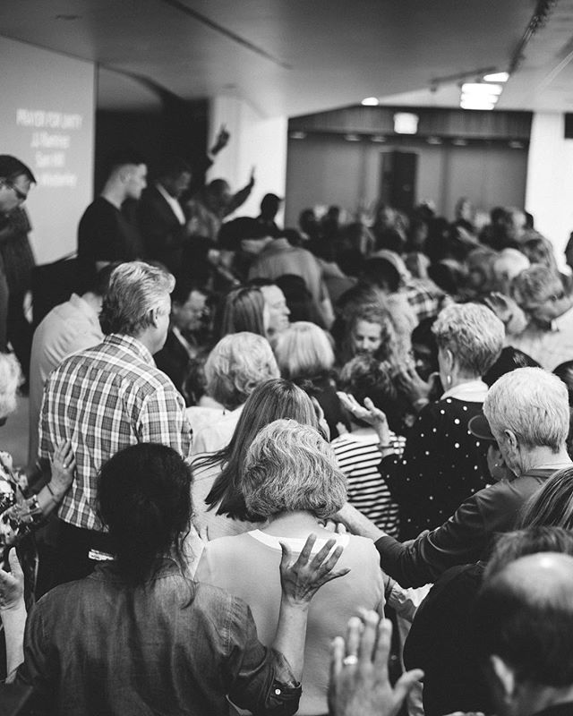 1Hope prayer gathering last night for revival, salvation, racial reconciliation, & unity in the body