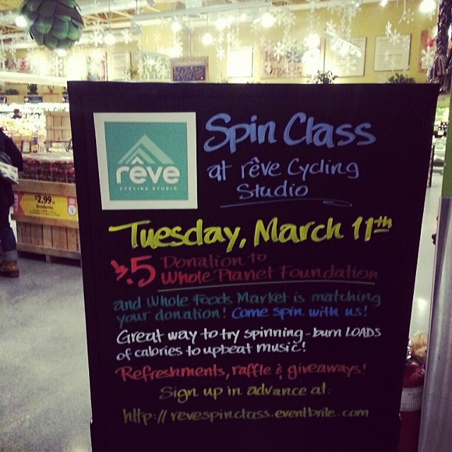 Partnering with Whole Foods! Woot woot