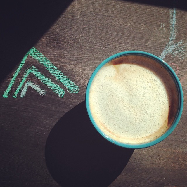 Here's to big cups of coffee on sunny #maine days! Happy President's Day!