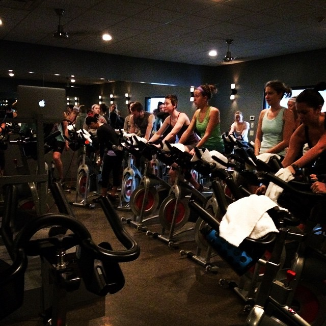4 awesome classes and 1 wonderful bachelorette party ride made for another great Saturday at the studio! Have a great weekend, everyone!