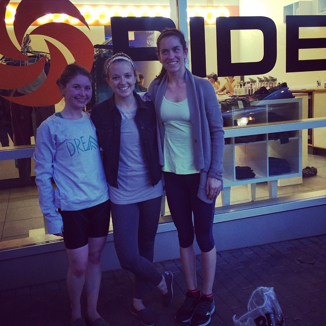 Some Rêvers have arrived in Austin! Loved our class at Ride tonight!