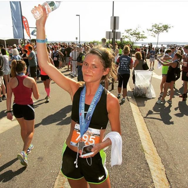 "#regram from @popham55 a.k.a our wonderful instructor Ally! In her words: ""You have everything you need inside of you. #tbt to my first #half. Couldn't have chased this dream without the strength and support of the Rêve community @revecycling #reveitup #dreamsdocometrue"" Way to go, Ally!!"