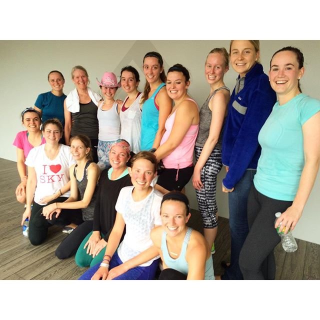 #TBT to Skyler's pre-wedding cycle one month ago! If you're looking for a great place to sweat it out before the big day OR to celebrate a bachelorette, let us know! These rides are SO fun!