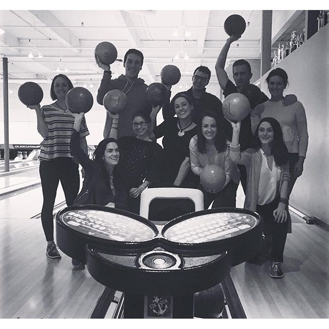 Last night, the competition got pretty fierce at our Rêve Instructor Bowling night. Grateful for such an inspiring crew and everything that they do!