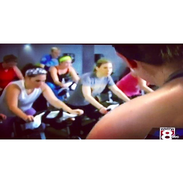 A snip bit of our segment with #WMTW Channel 8 for #WorkoutWeek! If you missed it tonight, stay tuned for the link!