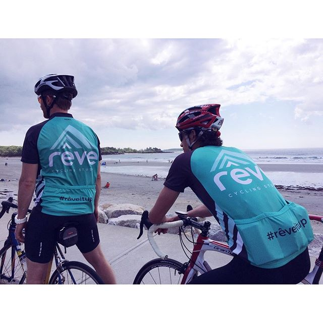 In less than 48 hours Team Rêve will begin their Trek Across Maine in style #TrekME #rêveitup #teamrêve