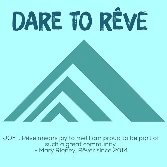 Today we choose JOY! #TeamRêve #DareToRêve