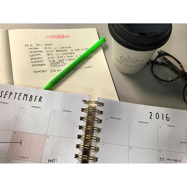 The hint of fall in the air calls for a fresh planner, some new goals, and an action plan. #rêveitup