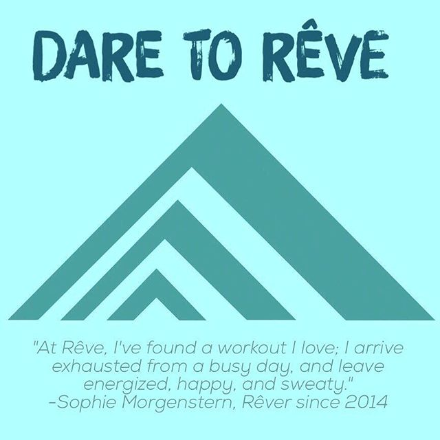 For @srmorgenstern, it's the perfect stress buster at the end of a busy day. Why do YOU Dare To Rêve?