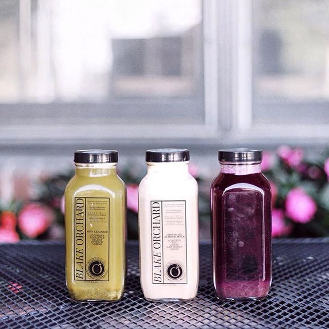 Monday night, follow up your favorite Rêve class with delicious samples from Blake Orchard Juicery. We can't think of a better way to jumpstart the week! @blakeorchard