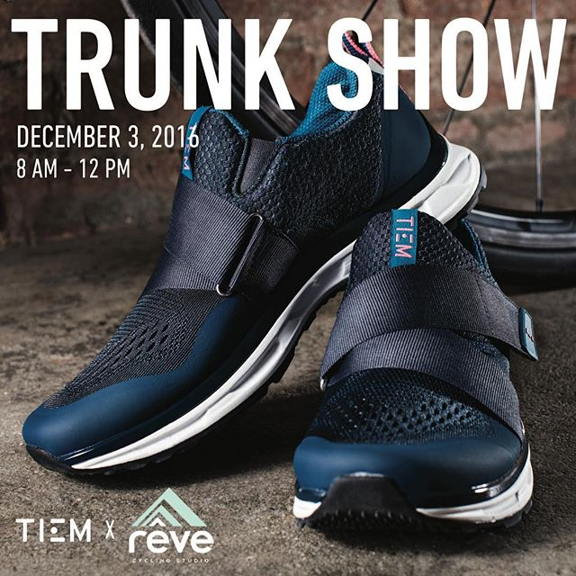 We are counting down to the TIEM trunk show this Saturday! Rêvers will get $10 off each pair purchased. You won't want to miss it!