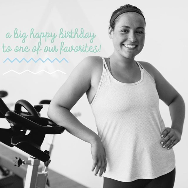 Happy birthday, Meg! Your energy is inspiring and your playlists are . We can't wait to celebrate with you tonight!