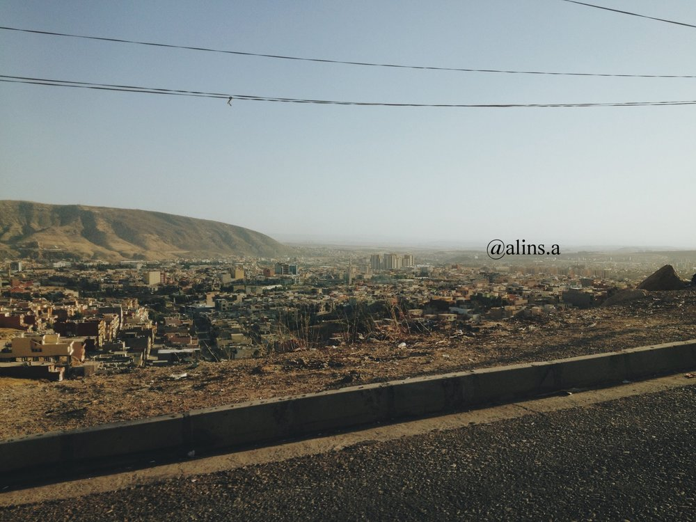 Duhok Kurdistan; while driving up to the cemetry