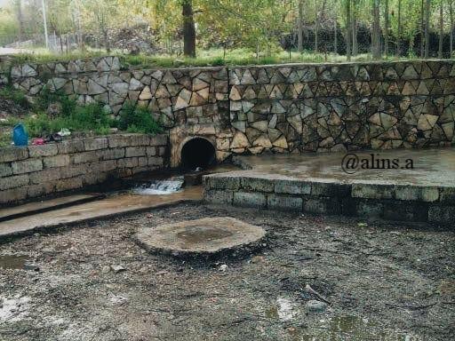 water station in Gundê Babîrya; Kanîya Sar Kîza