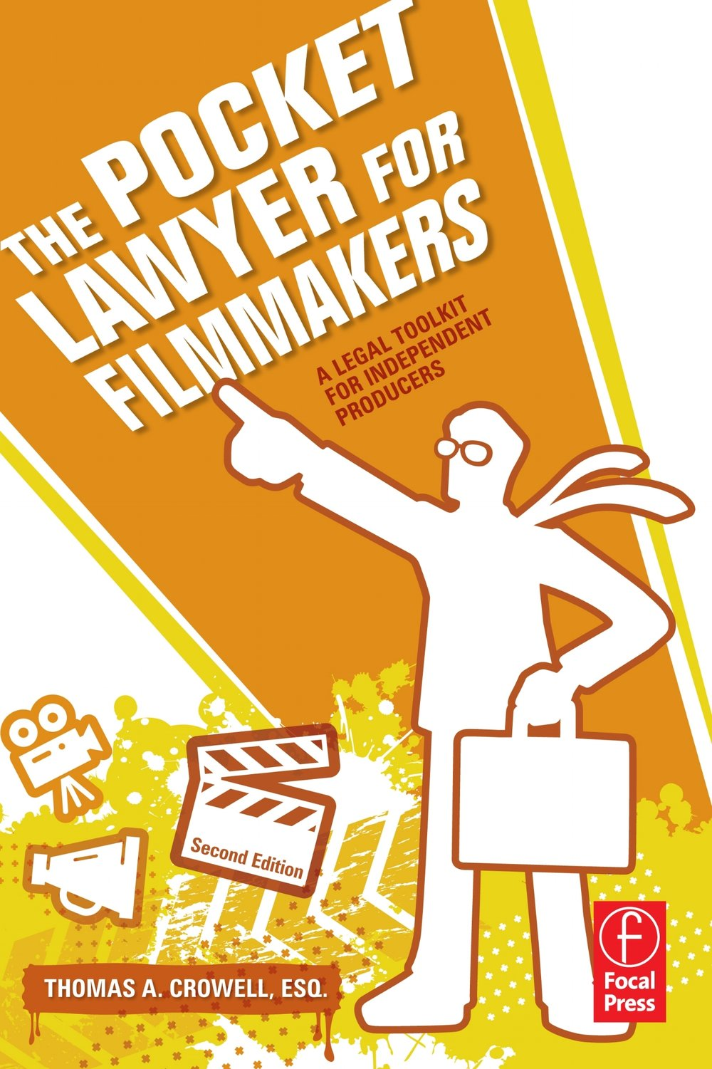 The Pocket Lawyer for Filmmakers - This no-nonsense reference provides fast answers in plain English with no law degree required! It is designed to help you reduce legal costs by providing the vital information you need to make informed decisions on the legal aspects of your film, video, and TV productions. Actors get hurt, copyrights are infringed, and contracts are broken. Big-budget producers have lawyers on retainer, but as an independent filmmaker, you are left legally exposed. Arm yourself with the practical advice of a TV-producer-turned-entertainment-lawyer.