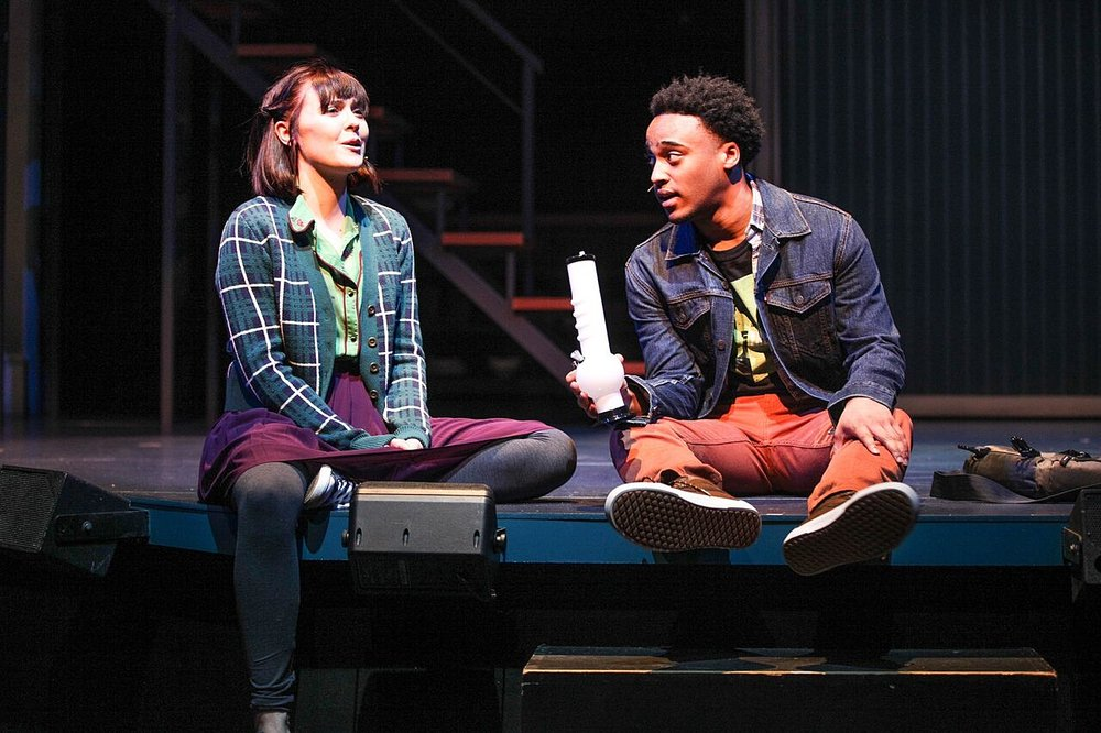 "Natalie in ""Next to Normal"" at Syracuse Stage w. Tyler Fauntleroy"
