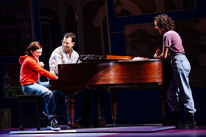 "Medium Alison in ""Fun Home"" at Portland Center Stage w/ Robert Mammana and Kristen DiMercurio"