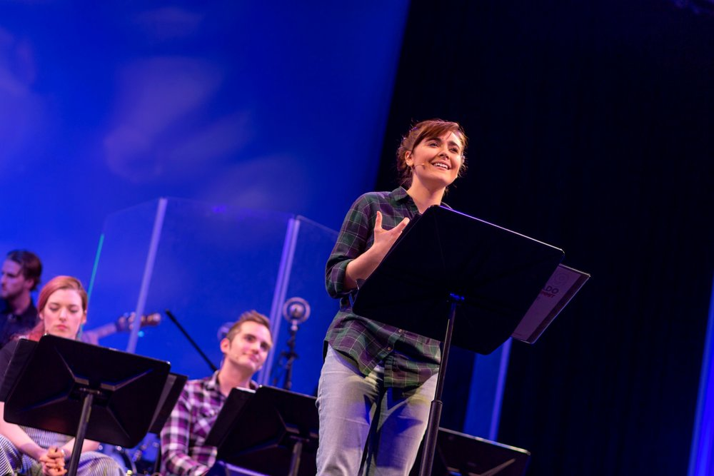 """Katie in """"Rattlesnake Kate"""" as a part of The Colorado New Play Summit at The Denver Center"""