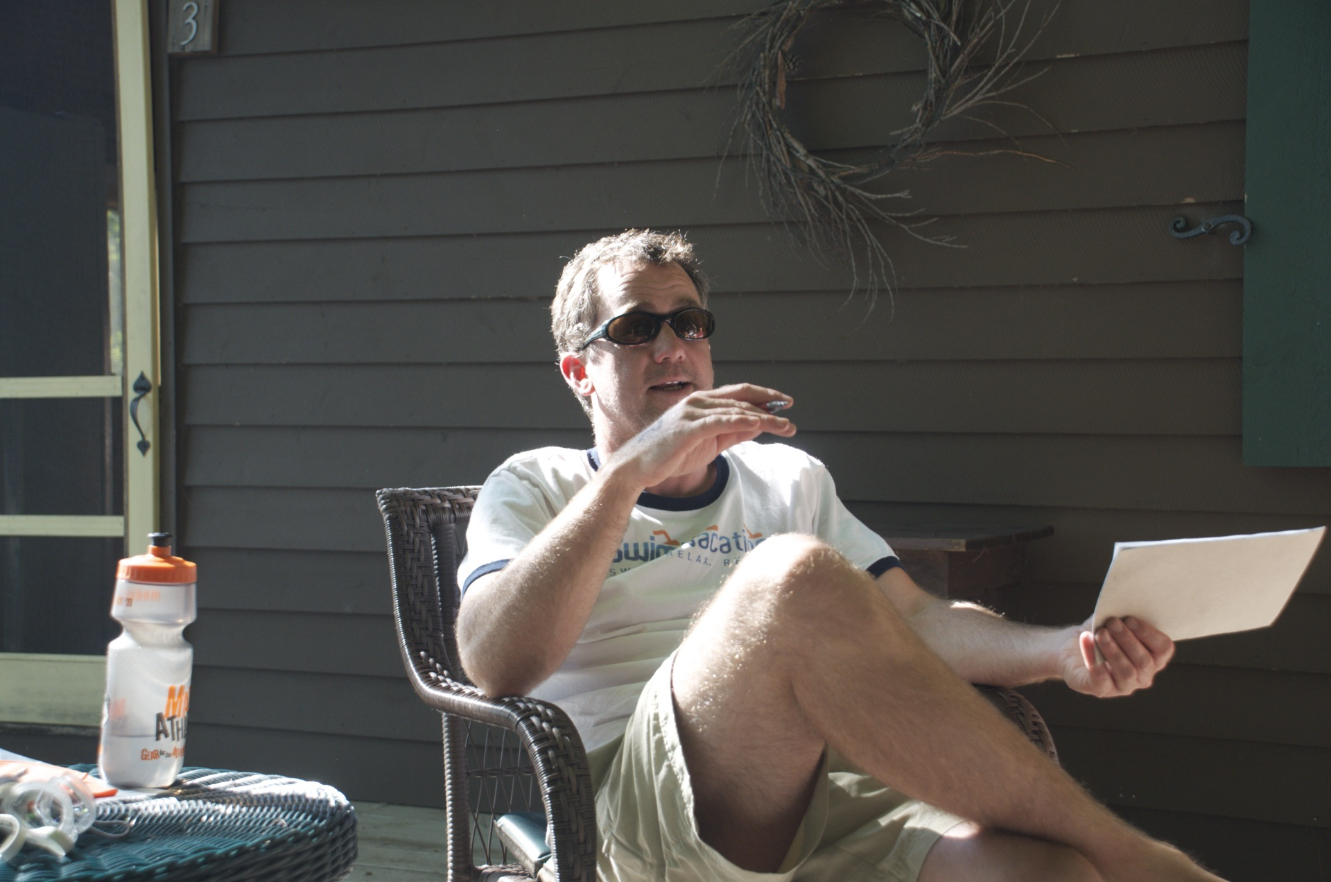 Hopper on deck.
