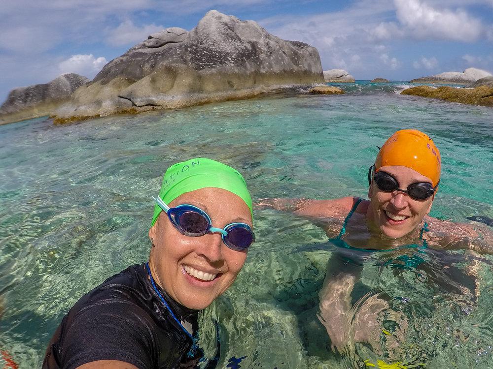 Heather & Suzie, SwimVacation 2018