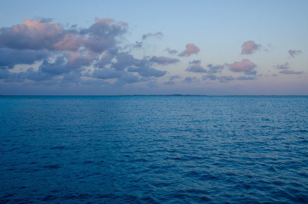 The softest pastels of Treasure Cay.