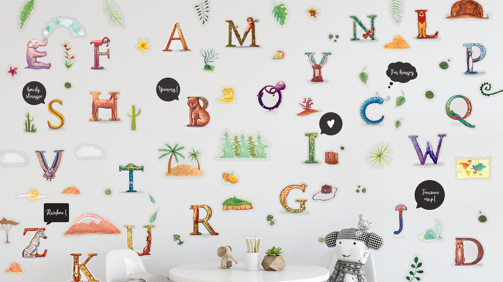Coming soon! - Be the first one to find out when our new animal alphabet collection comes out & win amazing rewards!