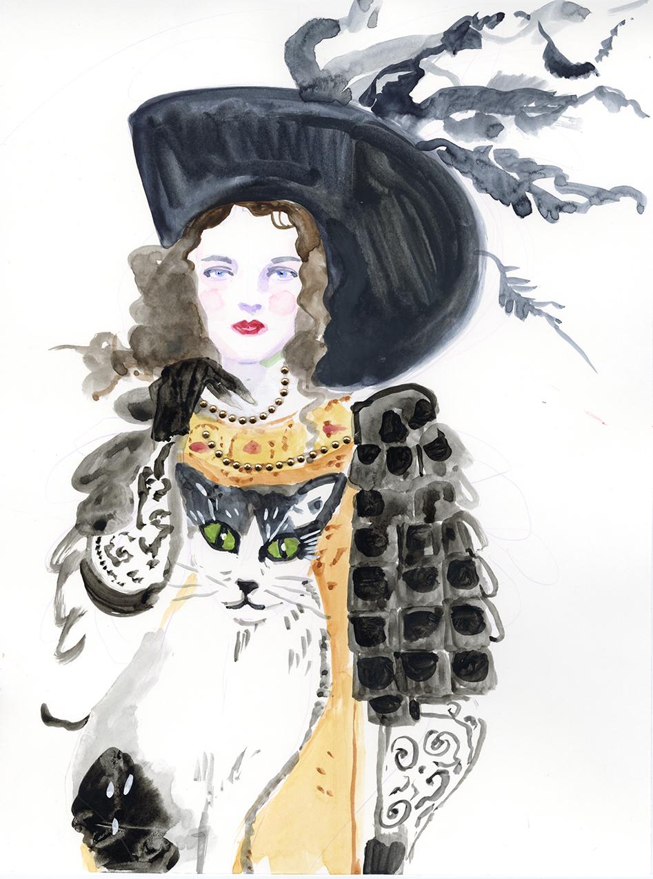 Box 19- black hat and cat.jpg