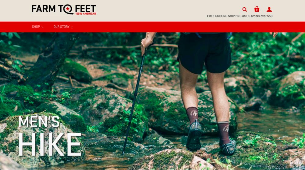 Farm to Feet Website