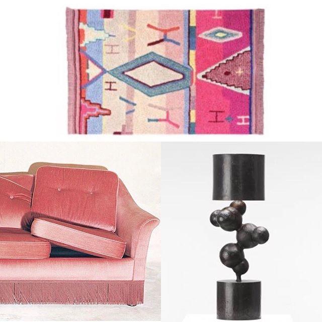 #futurproject #pinkmood #pinkandblack #moodboard #decoration #architecture #interiordesign #homedecor #decointerieur #aureliasantoni@aureliasantoni