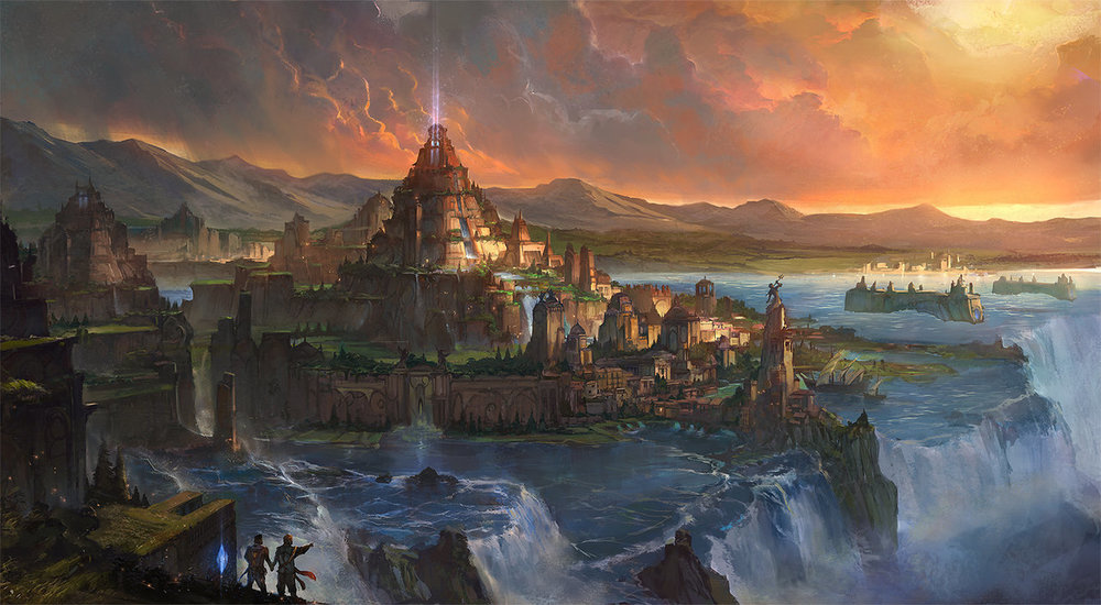 THE CITY Of ATLANTIS - Atlantis existed for over 200,000 years. The vast majority of the Atlantean times were epochs of Light. Only the final phase, the period from 17,500 BC to 10,500BC was in a dark era, but one rich in lessons.It was a time we developed higher consciousness.