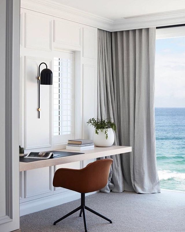 Happy Monday! Starting the week off on the right foot, with this amazing home on the Australian coastline. This home office is serving up some much needed inspo!  Design @laneandgrove . . . . . #OCHomes #OCInteriors #OCInteriorDesigner #OrangeCountyInteriorDesigner #studioDMM #StyleatHome #OrangeCountyHomes #HomeDecor #HomeDesign #InstaDecor #InstaDesign #Interior123 #CurrentDesignSituation  #postitfortheaesthetic #designdetails #simplystyleyourspace #interiordesignmoments #tipsforhome #maketimefordesign #designisinthedetails #houseandhome #detailsmatter #mondayvibes #mondaymood #currentmood #mondaymotivation #happymonday #motivationmonday #interiorinspiration #instamotivation