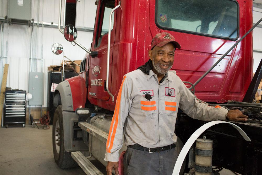 Mr Bobby at truck.jpg