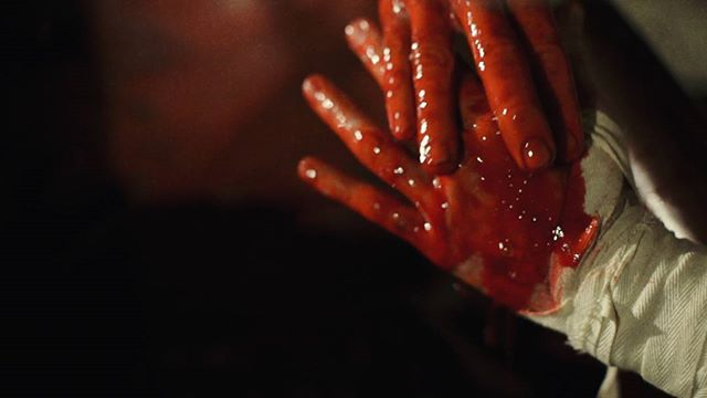 """Tis the season for all things bloody and weird.  Rent EXSANGUINATA for free via Vimeo On Demand until end of day October 31, promo code """"allHallowsEve"""". Link in bio.  #exsanguinata #exsanguinatafilm #shortfilm #horror #horrorfilm #horrorshort #blood #bathory #countessbathory #sabbathassembly #gretchenheinel"""