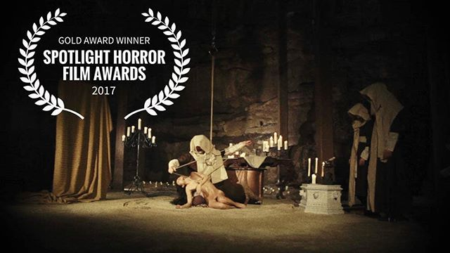 "Exciting news from the Spotlight Film Awards! ""After reviewing hundreds of films this year, we have compiled our first list of of the best independent films of 2017.  I am so honored to announce your project has been selected as one of the top horror films of the year."" If you haven't yet seen our film yet, the link to watch is in our bio.  #exsanguinata #exsanguinatafilm #horrorfilm #horror #horrorshort #shortfilm #spotlightfilmawards #sabbathassembly #gretchenheinel #backseatconceptions"