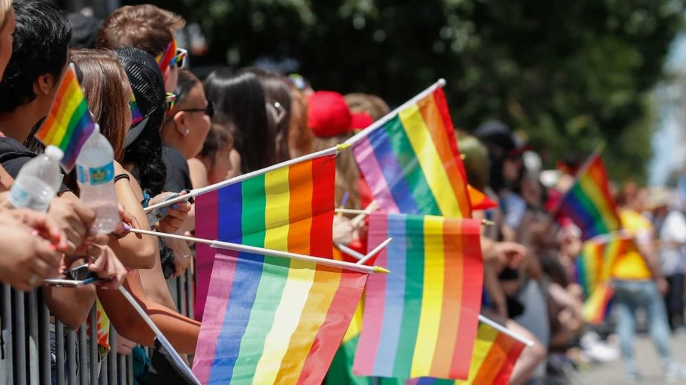 KAMIL KRZACZYNSKI/AFP/Getty Images Chicago Gay Lesbian Pride Parade