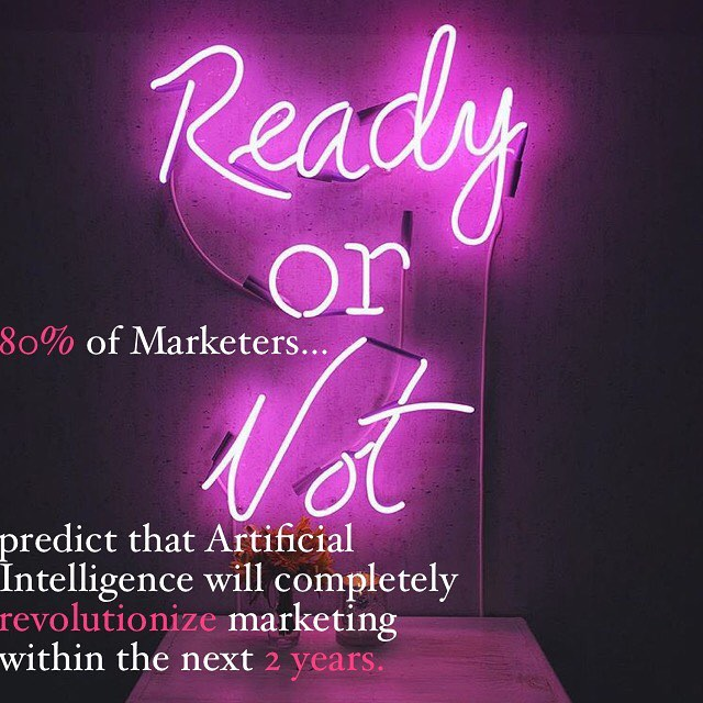 This new survey report from @econsultancy shows an overwhelming consensus. If you're in marketing, are you educated about how AI is changing your field? The truth is, AI is automating almost all of the day to day functions performed at marketing agencies. Are we in trouble or is this a positive force in the industry that can benefit marketing professionals? . . . . #ai #artificialintelligence #marketing #advertising #publicrelations #digitalmarketing #digitaladvertising #martech #marketingteam #digitalmarketingtips #growth #growthmindset #branding #digitalagency #growthhacking #growthhack #growthhackers #growthhacker