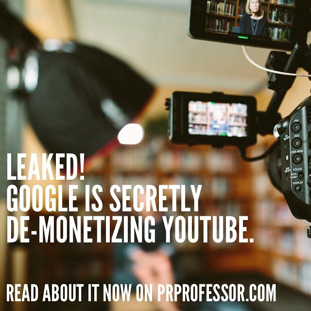 ❗️Tag any Youtubers you know❗️ Today, an employee of an agency sub-contracted by Google has leaked details about their plan to demonetize YouTube. The news broke in a secret Facebook group that Instagram/YouTube influencers use to collaborate and share tips. Several Youtubers have already reported that they've been cut off from their income stream. Read the full leak now (link in bio)! . . . #youtube #google #socialmedia #digitalmarketing #digitalmedia #influencermarketing #marketingdigital #growth #marketingtips #leaks #leak #secret #youtuber #youtubers #youtubersbelike #advertising #digitaladvertising #videomaker #videoproduction