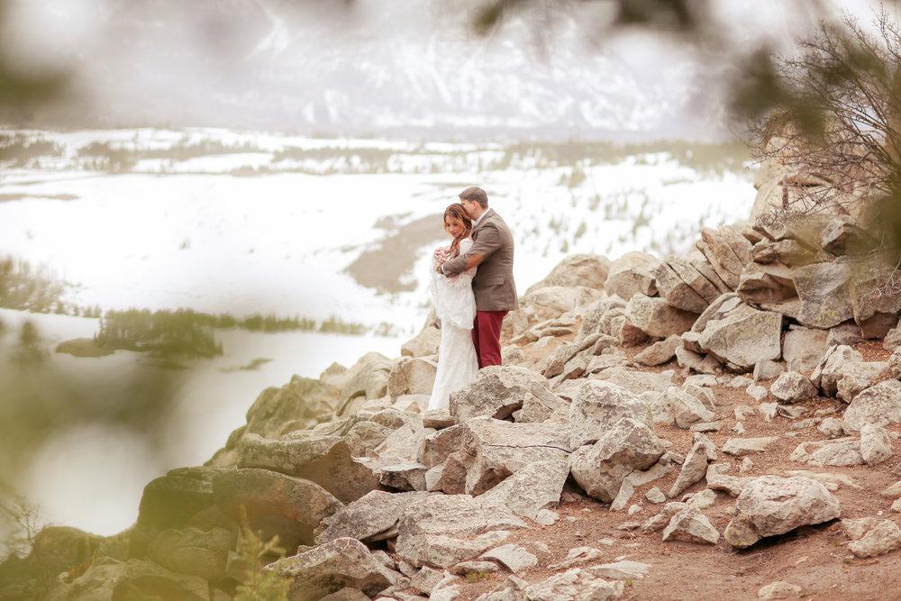 BETH + AARON - Sapphire Point    Breckenridge, CO