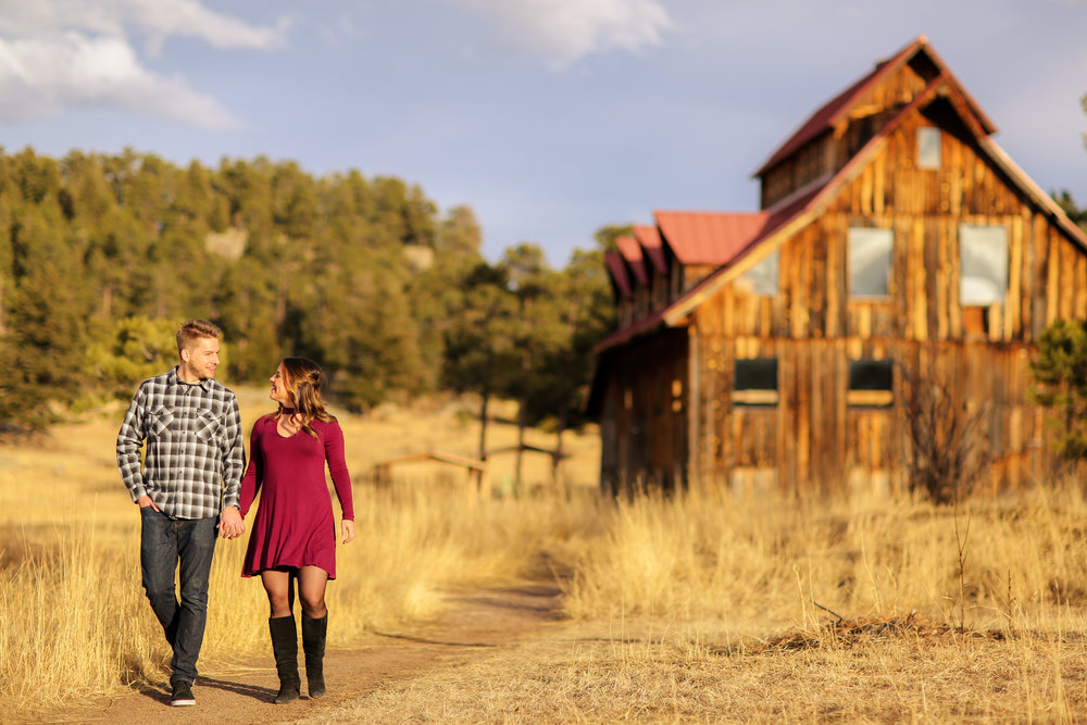 BROOKE + JAKE - ALDERFER/THREE SISTERS PARK || EVERGREEN, CO