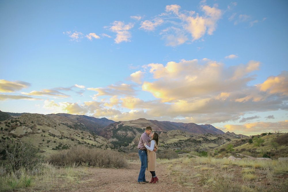 DANIELLE + CHARLIE - GARDEN OF THE GODS || COLORADO SPRINGS, CO