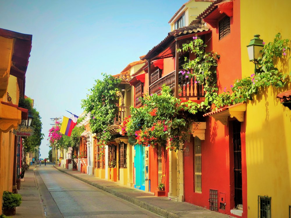 Colorful Cartagena, Colombia