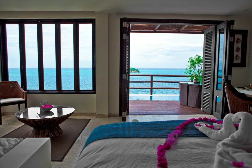 Ocean View Suite at Hotel Deep Blue, Providencia Island, Colombia