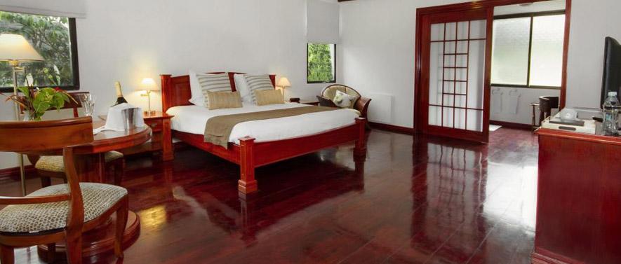 Room at the Royal Palm Hotel Galapagos, Ecuador