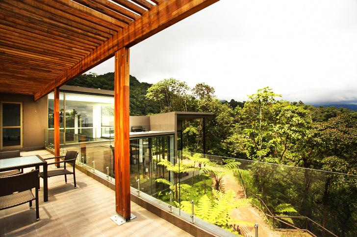 Views of Cloud Forest from Mashpi Lodge, Ecuador