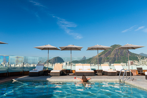 Rooftop Pool at Porto Bay International, Rio de Janeiro