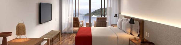 Sea suite view room at Fasano Angra dos Reis