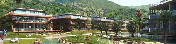 Modern architecture at the new Fasano Angra dos Reis