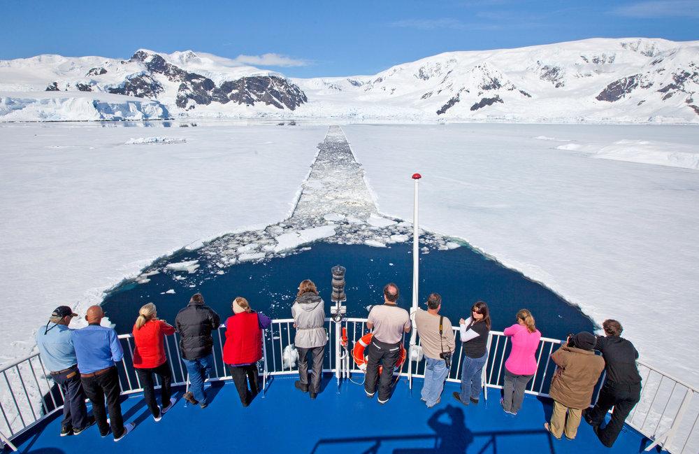 Sailing on board the Ocean Nova