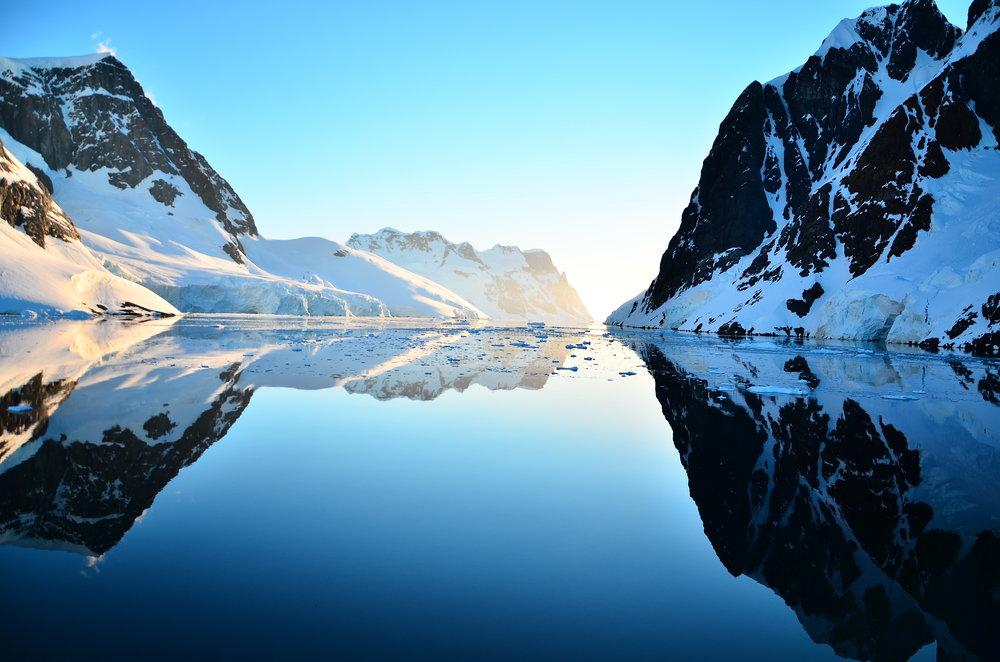 The Fjords of Antarctica