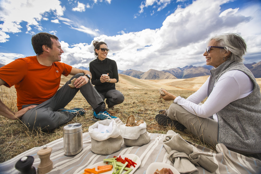 Picnic in the Sacred Valley with Explora